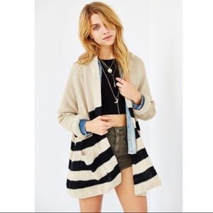 Urban Outfitters | BDG Striped Knit Cardigan